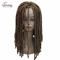 StrongBeauty Twist Hair Crotchet Braids Wigs Synthetic Dreadlocks Braids Hair Wig