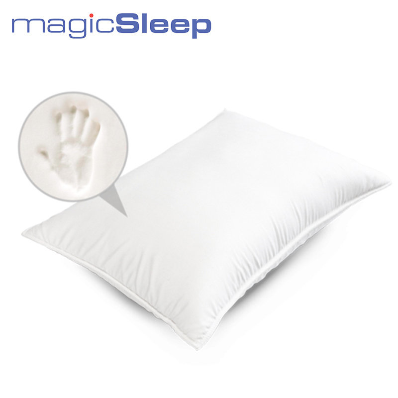 MAGIC SLEEP Melody Max P.223 Cushion Viscoelastic foam BioCarbon foam system Cushion cover Modern Health