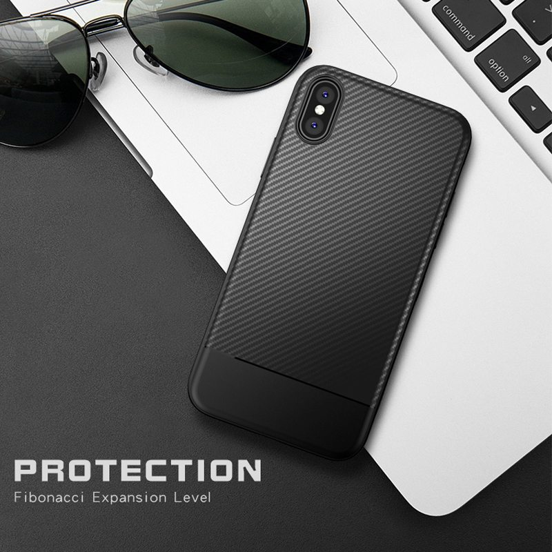 Slim Phone Cases For Iphone 7 XS Max XR Case Soft Silicone TPU Back Cover For Iphone 6 7 8 Plus XS X Case Silicon Coque Capa
