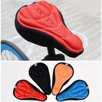Capa de sela da bicicleta capa de assento macio ciclismo almofada confortável equitação engrenagem protetora ss01|saddle stitcher|saddles cheapsaddle clamp -