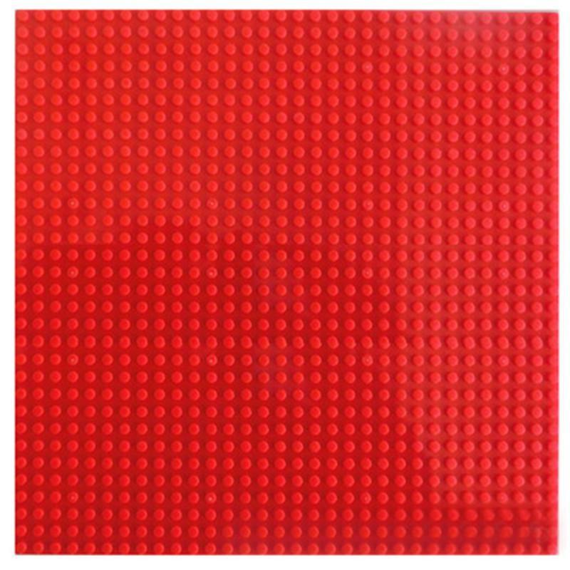7 Warna 32 * 32 Dots Pelat Dasar Untuk Batu Bata Kecil Baseplate Papan DIY Blok Bangunan Kompatibel dengan Legoings Mainan Untuk Anak-anak Blush Pink