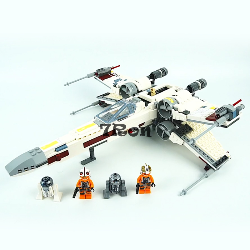 05145 STAR WARS Series X-Wing Starfighter Compatible with Lego 75218 Building Educational Toys Model DIY Blocks Bricks new 1685pcs lepin 05036 1685pcs star series tie building fighter educational blocks bricks toys compatible with 75095 wars
