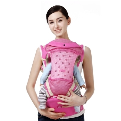 541e8aa930c Bethbear 3 In 1 Hipseat Ergonomic Baby Carrier 0 - 36 Months Buckle  Comfortable Mesh Wrap