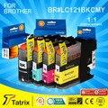 Дешевые Продукты LC121 картридж с чипов Для Брата Использования принтера DCP-J552DW/DCP-J752DW/MFC-J470DW/MFC-J650DW Струйных Принтеров