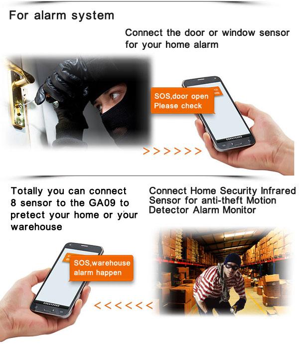 GA09_for_gsm_home_alarm_system