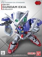 Bandai Gundam 02753 SD BB EX Exia הסטנדרטי נייד חליפת להרכיב דגם ערכות פעולה דמויות צעצועי ילדים