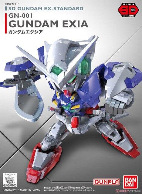 Bandai Gundam 02753 SD BB EXมาตรฐานExiaโทรศัพท์มือถือชุดประกอบชุดตัวเลขการกระทำของเล่นเด็ก