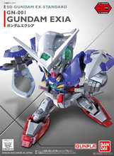 Bandai Gundam 02753 SD BB EX Standard Exia Mobile Suit Assemble Model Kits Action Figures Childrens toys