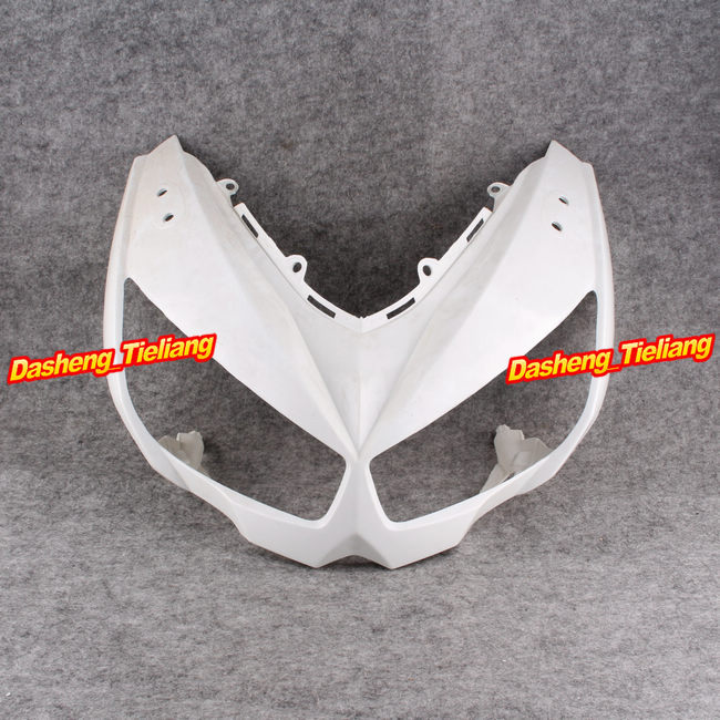 Motorcycle Upper Front Cover Cowl Nose Fairing for Kawasaki Z1000 Z 1000 2010 2011, Injection Mold ABS Plastic, Unpainted motorcycle abs injection fairings for upper front head fairing cowl nose cowl for kawasaki z1000 2010 2013 unpainted