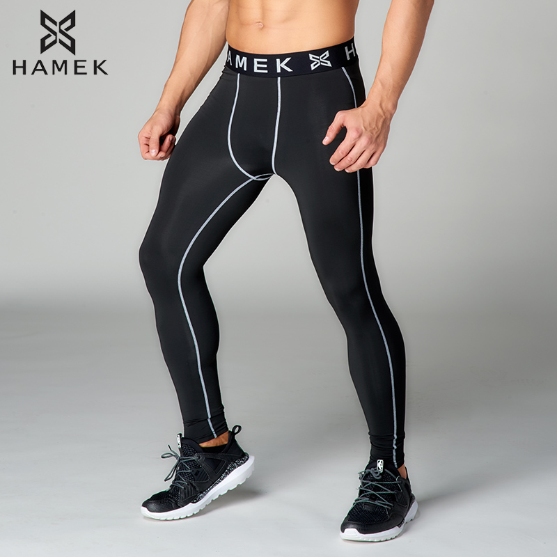 e7eea4102b Running sports leggings men running tights gym fitness basketball tights  yoga pants compression running training tights trousers