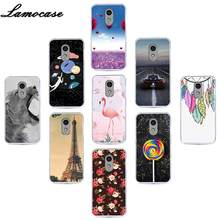 Lamocase Silicone Protector Phone Case For Lenovo Vibe P1M Painted Soft TPU Cover For Lenovo Vibe P1Ma40 P1 M Back Cover Cases(China)