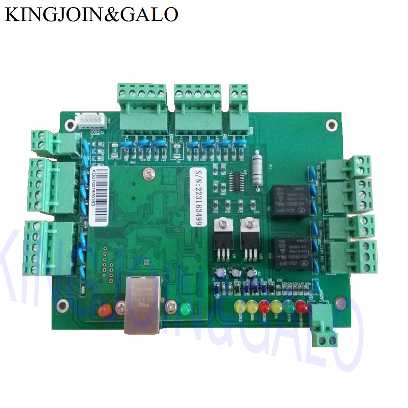 20K Users TCP/IP Networking RFID Access Contorl Board For Car parking Control System locker access control system manage 40pcs locks tcp ip commution suit for bank bath center etc private cabinet model dt40