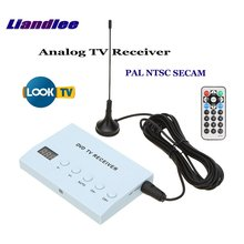 Liandlee Global Car DVD TV Receiver Mobile Analog Tuner Host Box System Antenna IR Remote Control PAL NTSC SECAM A-TV
