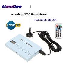 Liandlee Global Car DVD TV Receiver Mobile Analog TV Tuner Host Box System TV Antenna IR Remote Control PAL NTSC SECAM A-TV