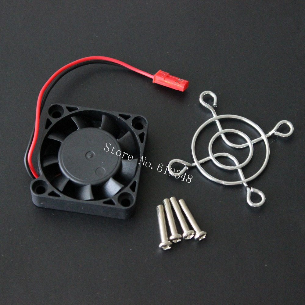 40x40mm Cooling Fan DC 5V 0.2A Heat Sink HeatSink JST Plug With Mouning Screws For ESC Electric Speed Controller