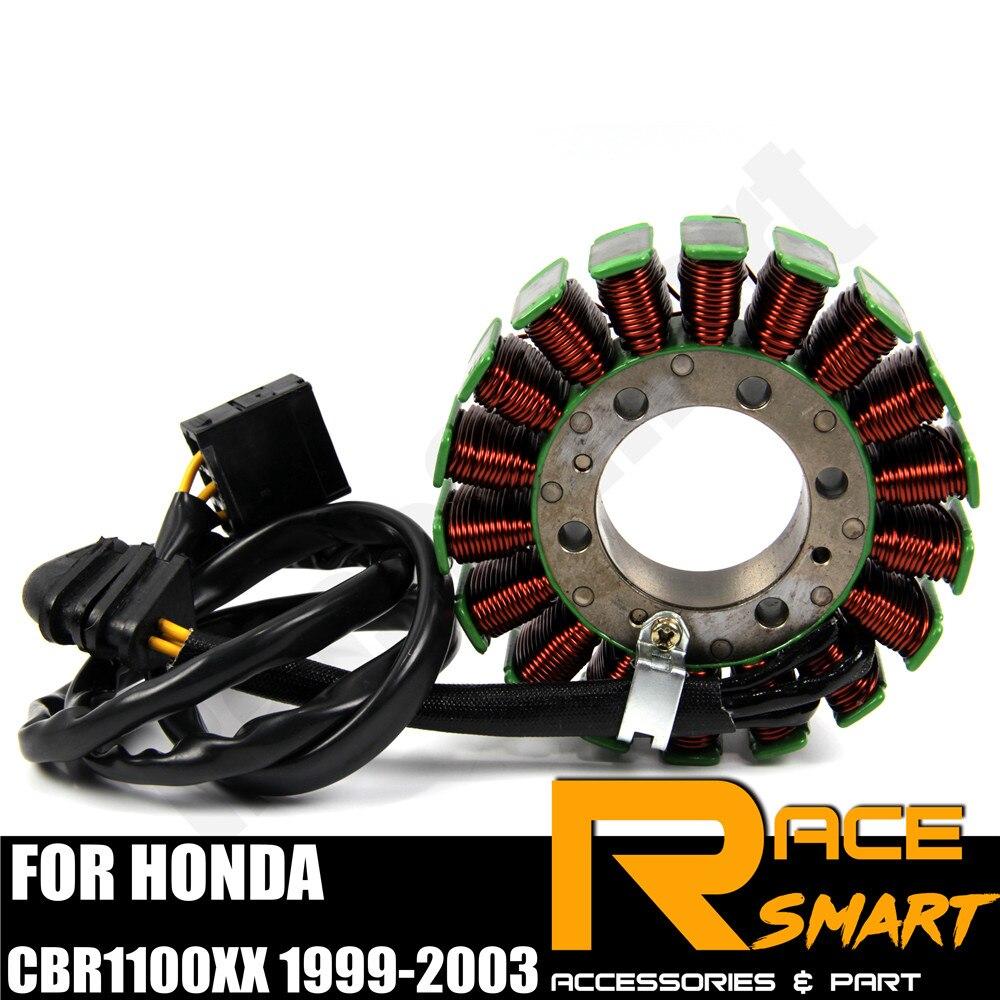 Motorcycle Magneto Generator Stator Coil For Honda CBR1100XX 1999-2006 01 02 03