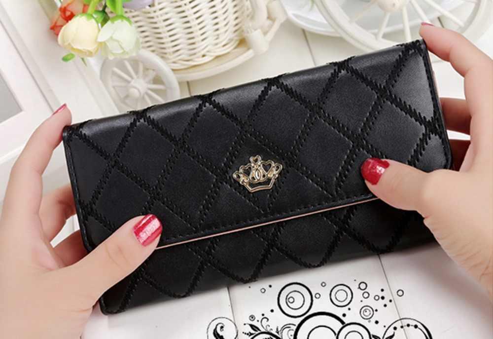 Carteras de mujer monederos de moda carteras largas para chicas dinero monedero tarjetero carteras de mujer bolsos de embrague de teléfono