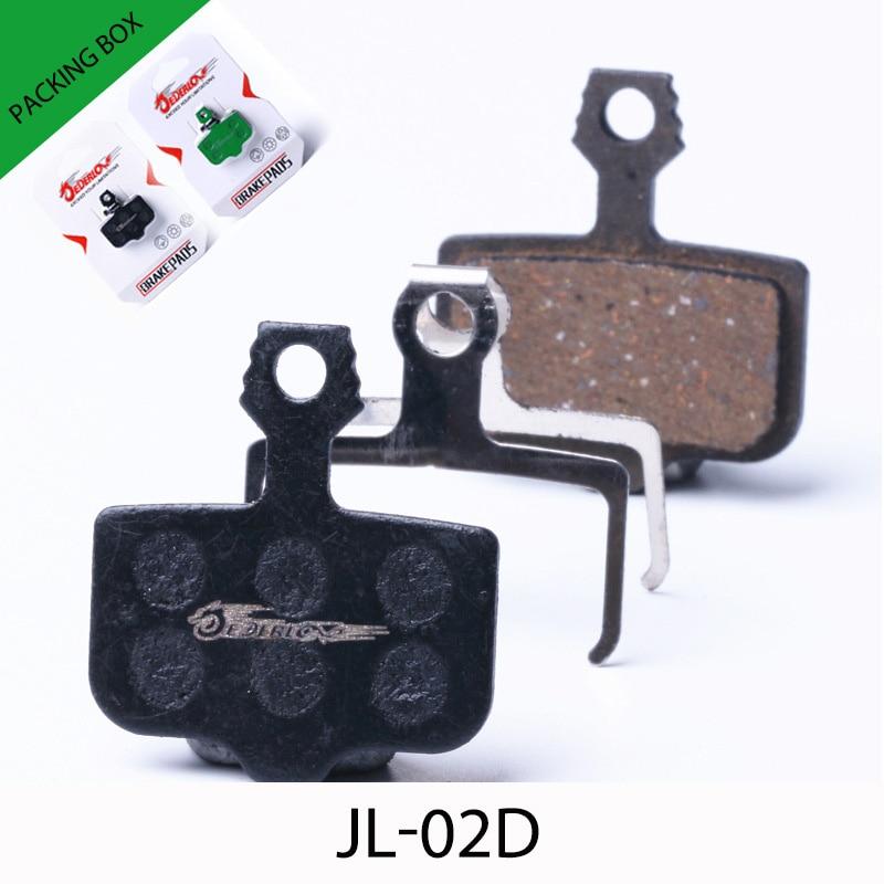 JEDERLO 02C DISC BRAKE PADS FOR AVID CODE SRAM 1 PAIR