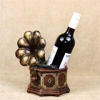 Vintage Phonograph Model Wine Bottle Holder Decorative Gramophone Wine Bracket Barware Ornament Craft For Home, Bar and Office