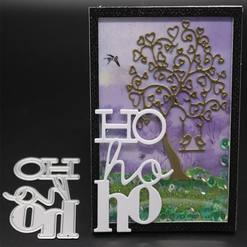 Special characters Metal Cutting Dies for Scrapbooking Photo Album Embossing DIY Paper Cards Making Decorative Stencil Craft in Cutting Dies from Home Garden
