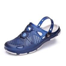 Men Sandals Summer Flip Flops Slippers Men Outdoor Beach Casual Shoes Cheap Male Sandals Water стоимость