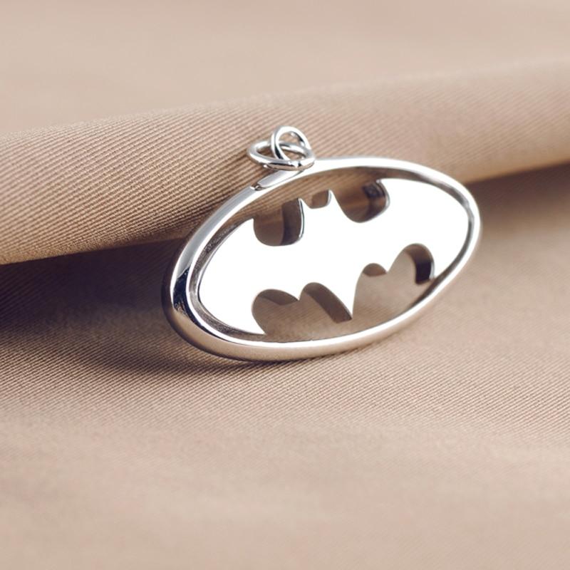 The Dark Knight Rises Batman Sign Logo Real 925 Sterling Silver ...