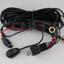 Universal 12 v 24 v Car LED Light Work Bar Fio Menos de 240 w