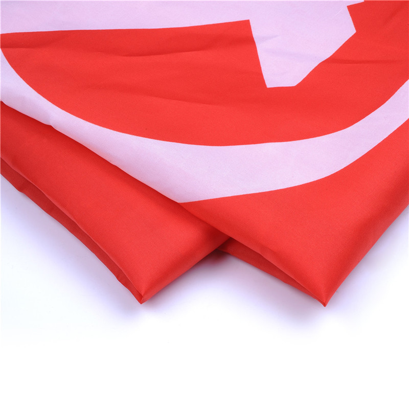 HOT! USSR Flag 90*135cm Russian Victory Banner Flag Polyester USSR Soviet Banner Of Victory In Berlin For Victor Home Decor