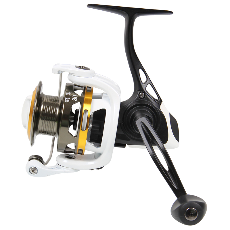 Haibo 9BB 5.2:1 STEED20 STEED30 Max Drag 4kg Spinning Fishing Reel Lure Reels Metal Body Rock Reel Alluminum Frame Pesca Tackles tsurinoya tsp3000 spinning fishing reel 11 1bb 5 2 1 full metal max drag 8kg jig ocean boat lure reels carretes pesca molinete