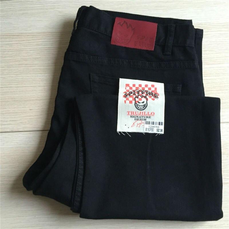 Prix pour Qualité Spitfire planche à roulettes pantalons Taille 29-36 Nouveau Spitfire pantalon pour Planche À Roulettes lecteur adapté pour Adultes ou Enfants