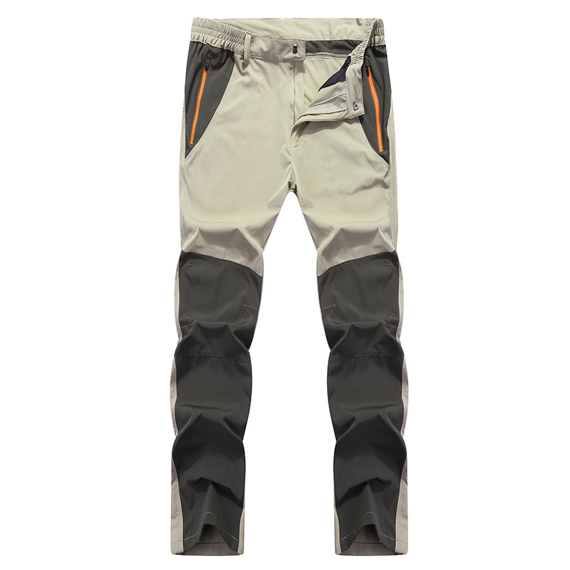 New Outdoor Breathable Quick-drying Pantalon Men Waterproof Elastic Summer Wear-resisting Trousers Climbing Hiking Fishing Pants