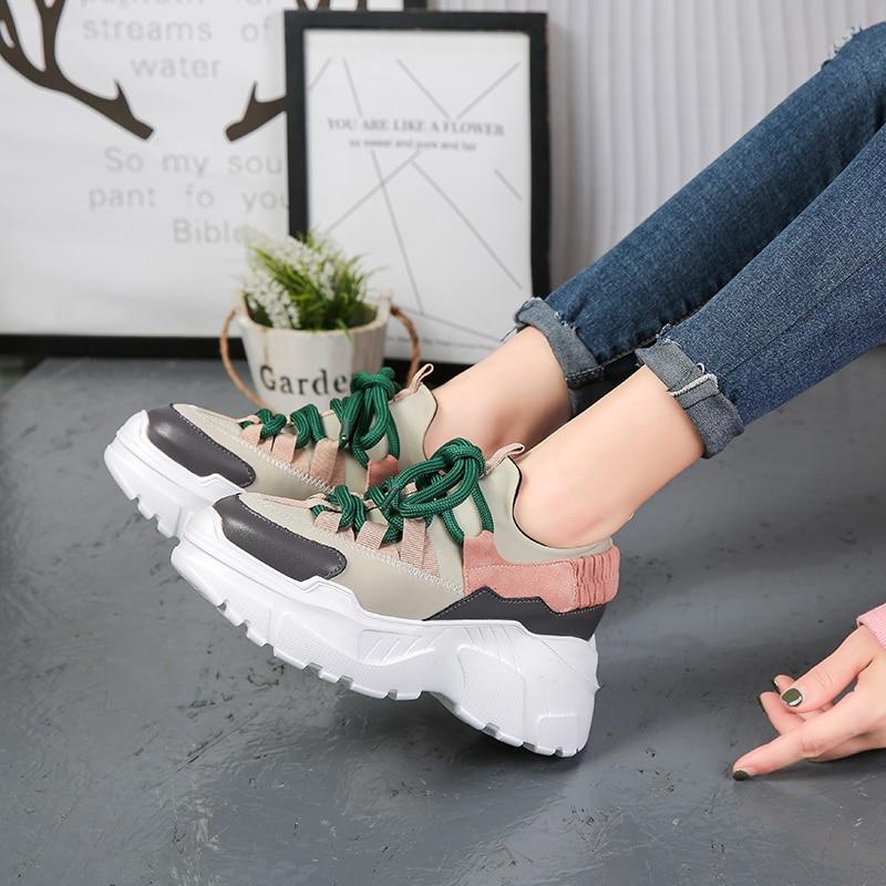 Platform Sneakers - 2 Colors
