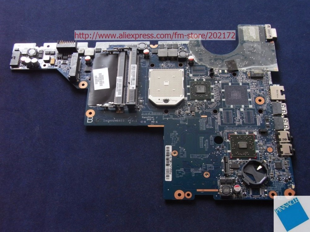 592808-001 Motherboard for Compaq presario CQ42 CQ62 DA0AX2MB6E0