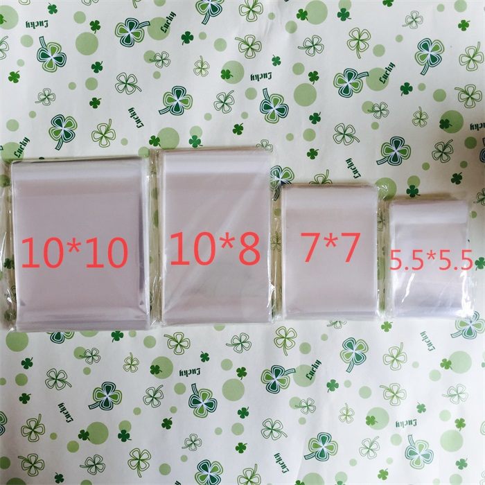 6 sizes to choose 100pcs/lot Cheap Clear Packaging Bags Plastic Cookie Biscuit Packing Muffin Cream Cake Bag Wedding Decorations