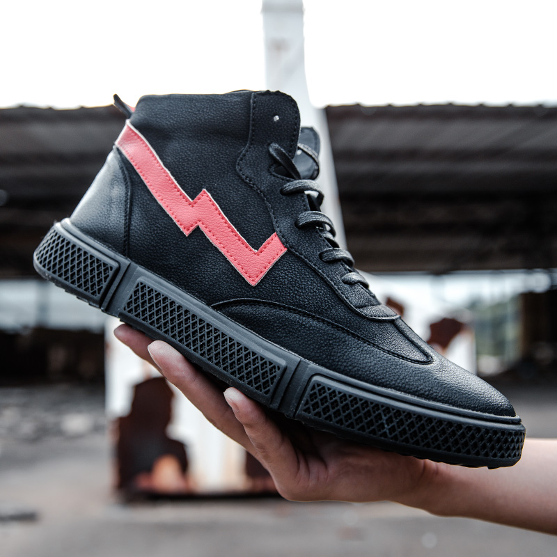 Athletic Top High Livre Tênis K3 Ar Beige Alta Homens Shoes Couro up De Casual Lace Qualidade Moda Confortável Ao black Sapatos Respirável Masculinos 0WxwzTqva
