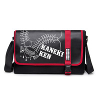 Tokyo Ghoul Kaneki Ken High Quality Printing Anime Durable Canvas Bag Shoulder Bag AB202
