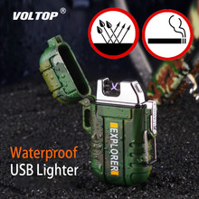 Waterproof Charging Cigarette Lighter Car Accessories Electronic Gadgets Socket Usb Charger Adapter Outdoor Camping Portable