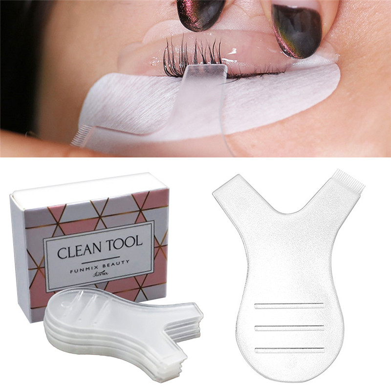 5pcs/Lot Y Shape Silicone Eyelashes Lift Lifting Curler Eye Lash Extension Graft Brush Tool Eye Lash Perming Pad