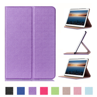 Ultra Slim Luxury Stand Folio Flip PU Leather Skin Magnetic Smart Sleep Cover Case For Huawei