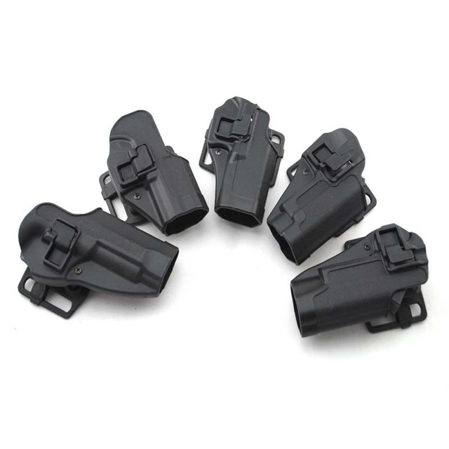Tactical Airsoft CQC Holster Pistol Gun Holster For G17/1911/M9/P226/USP Belt Loop Waist Paddle outdoor Hunting