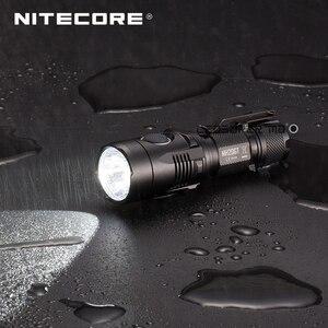 Image 5 - Usine prix Nitecore MH20GT taille de la paume projecteur Portable LED USB Rechargeable 18650 lampe de poche 1000 Lumens