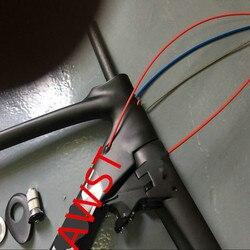 AWST UD matowy węgla rowerów ramek V łamie rower rama z włókna węglowego + zarys rama wyścigowa wykonany na tajwanie 49/ 52/54/56/58cm