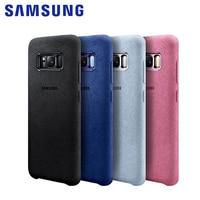 100 Original Samsung Galaxy S8 S8 Plus S8 Case G9550 9500 Anti Fall Leather ALCANTARA Cover