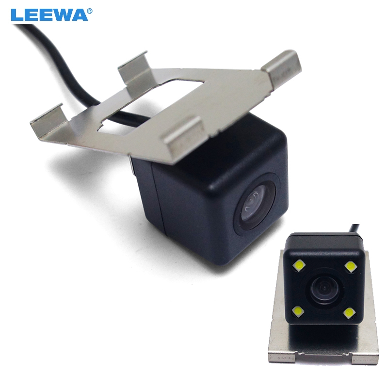 LEEWA HD Car Backup Rear View Camera 4LED For Honda Civic 2016/Gienia/Avancier 2017 Reversing Parking Camera #CA3922/CA4733