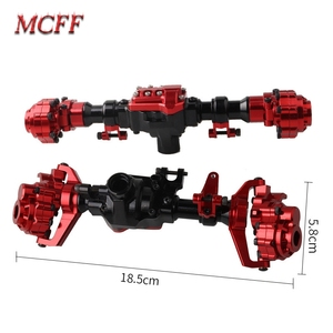 Image 2 - TRX4 Aluminum Front and Rear Portal Axle Housing As Upgrade Part for 1/10 RC Crawler Car TRX 4 Axles