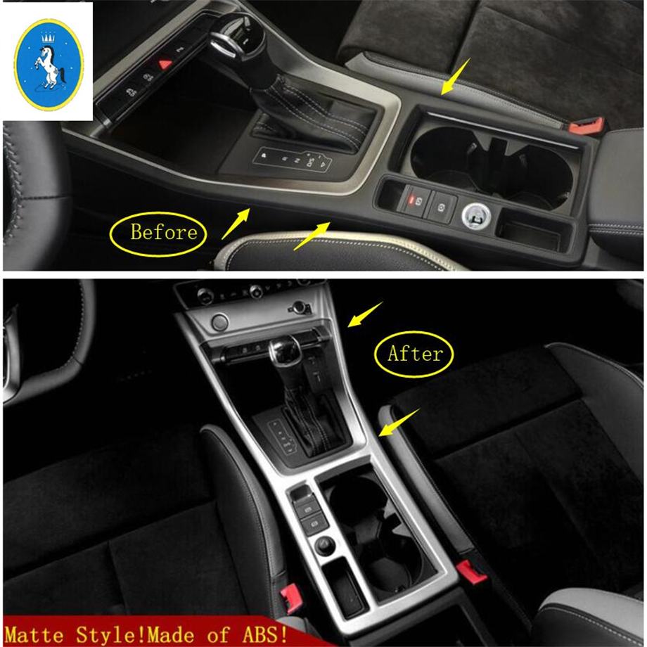 Interior Chrome Water Cup Panel Decorative Cover Moldings For Renault Kadjar M