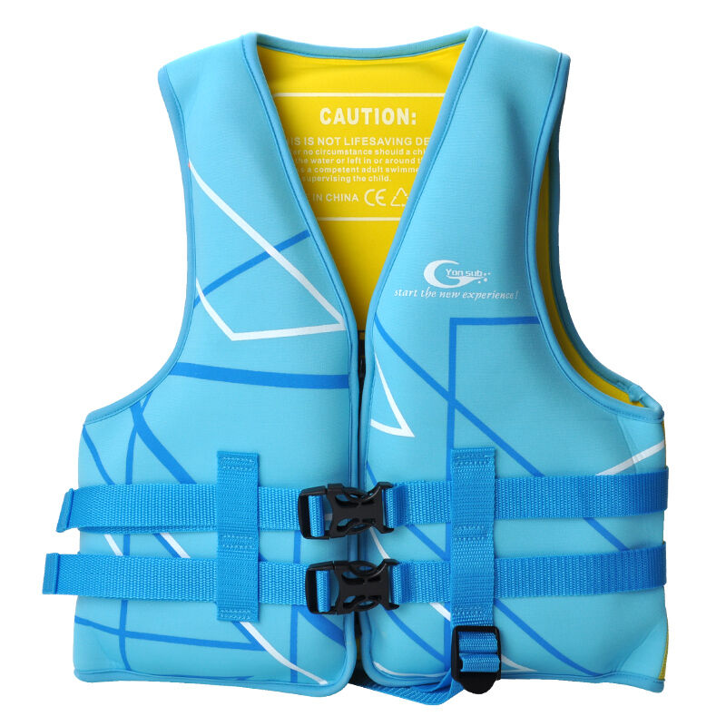 Professional Children Life Jacket High Density EPE Buoyant Cotton Snorkeling Life Vest For Age 3-12 Children