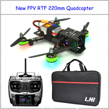 RC plane  with AT9 radiolink 2.4G Remote Control fpv    RTF  QAV ZMR 220mm drone with camera Quadcopter
