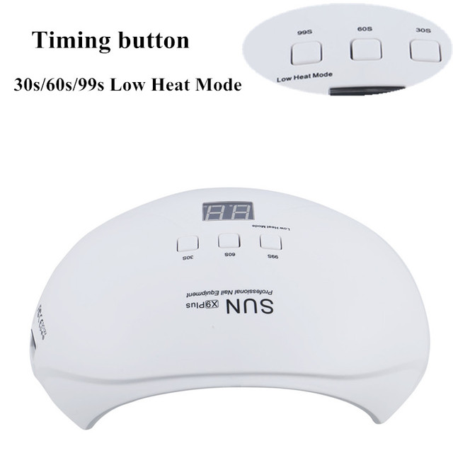SUNX9 48W Nail Dryer UV LED Lamp For All Gels 21 Leds UV Lamp for Nail Polish Cure Machine with Auto Sensor Salon Manicure Tools
