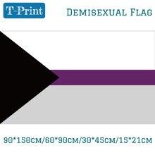 Предложенный отдельный полусексуальный флаг для 90*150 см 60*90 см 40*60 см 15*21 см ручной флаг для вечерние мероприятия офиса